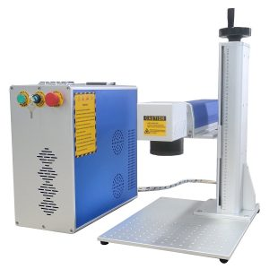 DIHORSE Mini Fiber Laser Marking Machine 30w For Permanent Metal Parts Marking and Engraving (RAYCUS)