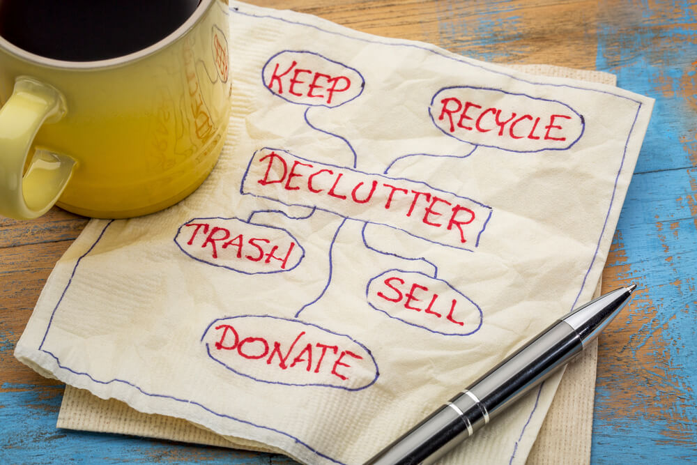 How to Start Decluttering a Hoarder