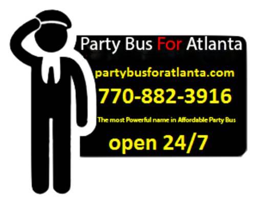 Party Bus For Atlanta