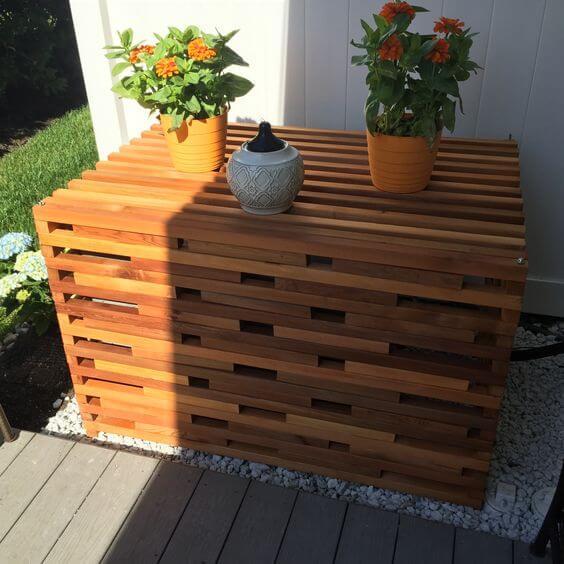 wooden fixtures